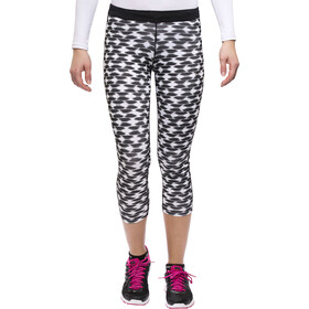 Nike Printed Relay Running Shorts Crop Women, black/refsil